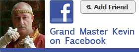 Join Grand Master Kevin on Facebook.