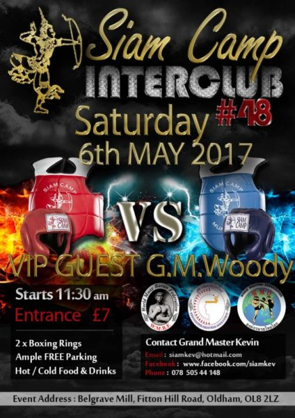 Siam Camp 2 Interclub with GMW MAY 6th 2017 small