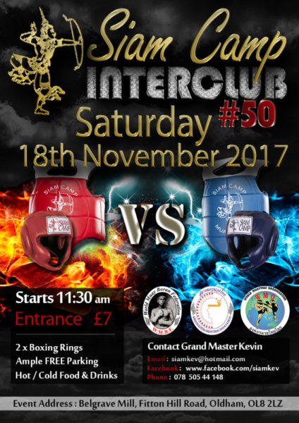 Siam Camp Interclub 18th NOV 2017 small